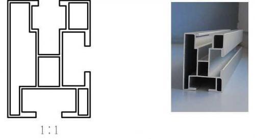 Profil AL DES1 - 50x35x5200mm